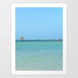 Cancun Art Print