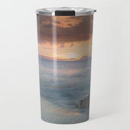 A Naples Beach Sunset 1/3 Travel Mug