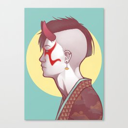 Demon Within Canvas Print