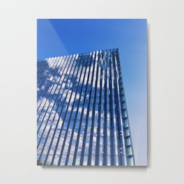 Cloud Cover Metal Print