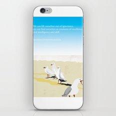 Jonathan Livingston Seagull iPhone & iPod Skin