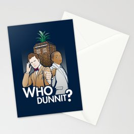 Who Dunnit? Stationery Cards