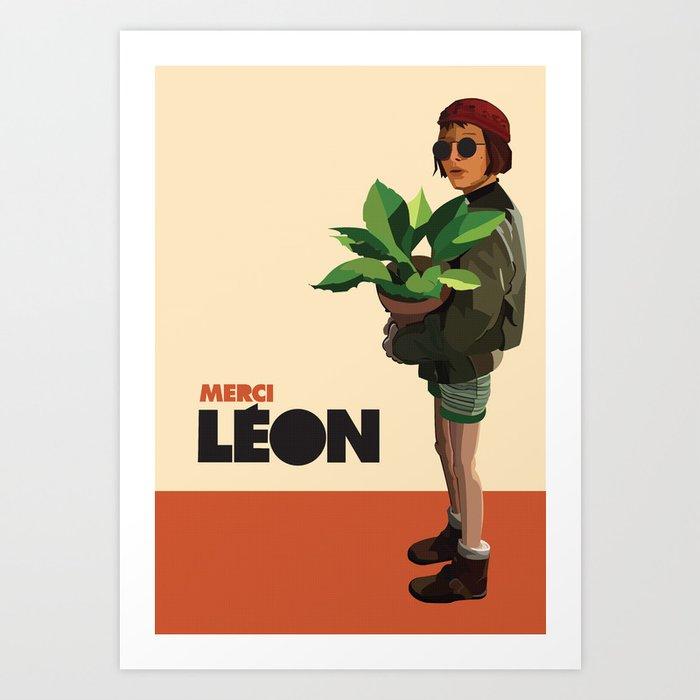 Mathilda, Leon the Professional Art Print by ananovakovic