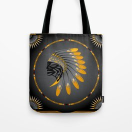 Honor and Strength Yellow Tote Bag