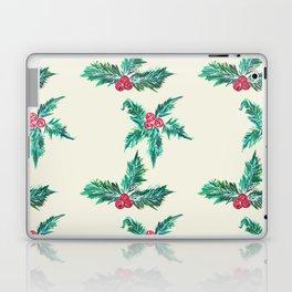 Winter Holly Laptop & iPad Skin