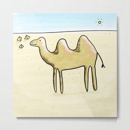 Camelia Metal Print