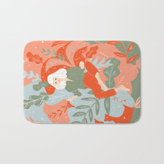 Take Me To The Wonderland Bath Mat