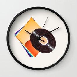 Lo-Fi goes 3D - 78 Vinyl Record Wall Clock