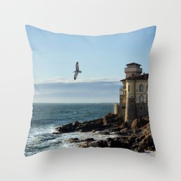 Castel Boccale Throw Pillow