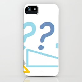 What's your angle?... II iPhone Case