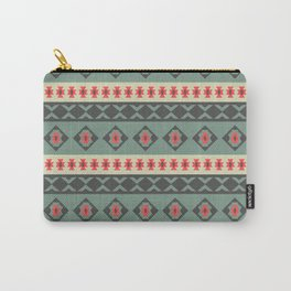 Tribal style geometry Carry-All Pouch