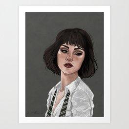 Pansy Parkinson Art Print