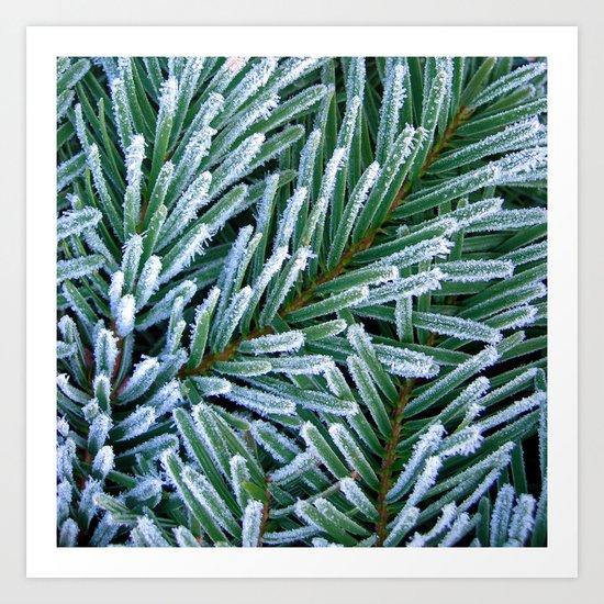 cold winter IV Art Print