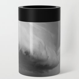 Cape Tryon Vortex Black and White Can Cooler