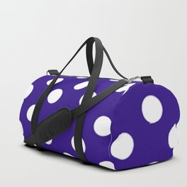 Polka Dot Party in Blue and White Duffle Bag