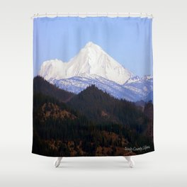 Mount Lassen... Shower Curtain