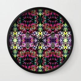 Mystic Hydangea Wall Clock