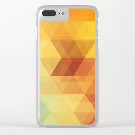 The Geometry Of Triangles Part-1 Clear iPhone Case