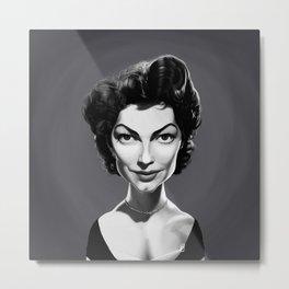 Ava Gardner Metal Print