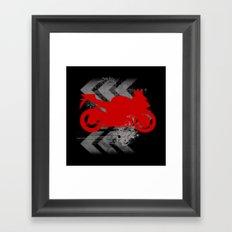 Racing Framed Art Print