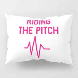 Riding the Pitch Old School Turntables DJ Control Technique Pillow Sham
