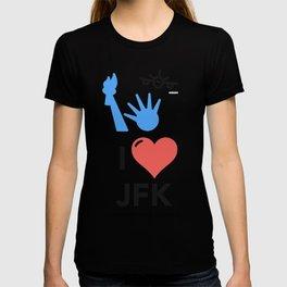 I Love/Like JFK T-shirt
