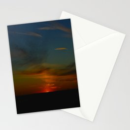 Prairie Sunset #1 (Chicago Sunrise/Sunset Collection) Stationery Cards