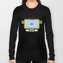 Soundwave Transformers Minimalist Long Sleeve T-shirt