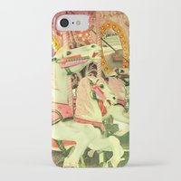 carousel iPhone & iPod Cases featuring Carousel by elle moss