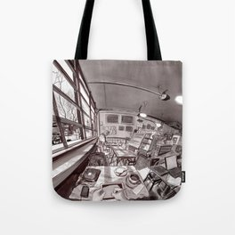 Denver Coffeehouse Tote Bag