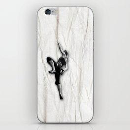 Woman Climbing a Wrinkle iPhone Skin