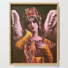 Decorative Vintage Angel Serving Tray
