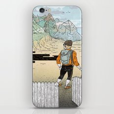 Backyard Adventure iPhone & iPod Skin