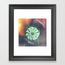 Hands Create Everything Framed Art Print