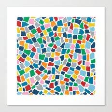 British Mosaic Multi Canvas Print