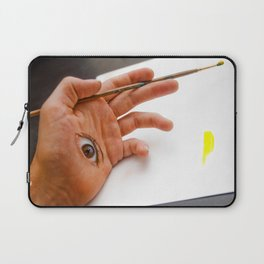Through the Hand Laptop Sleeve