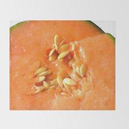 Melon Nature Throw Blanket