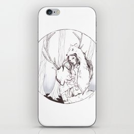 Huntress iPhone Skin