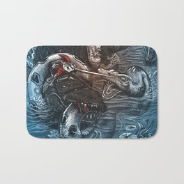Marsh Madness  Bath Mat