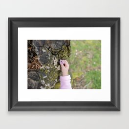 bloom. Framed Art Print