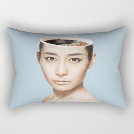 Coffee Head Rectangular Pillow