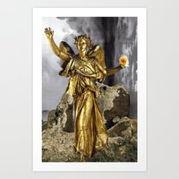 Triumph After The Storm Art Print