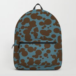 Bubbles in the Batter - Blue-Chocolate Backpack