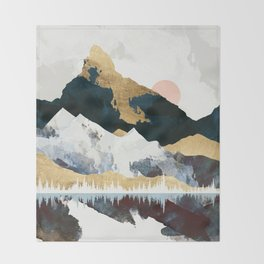 Winters Day Throw Blanket