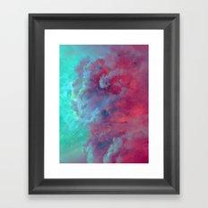 Mèduse Rouge Framed Art Print