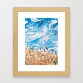 Outback Ridge Framed Art Print