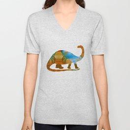 Brontosaurus Unisex V-Neck