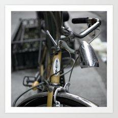 bikes 02 Art Print