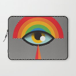crying eye Laptop Sleeve