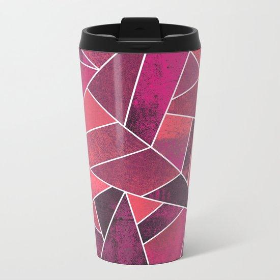 Pink Ash Metal Travel Mug